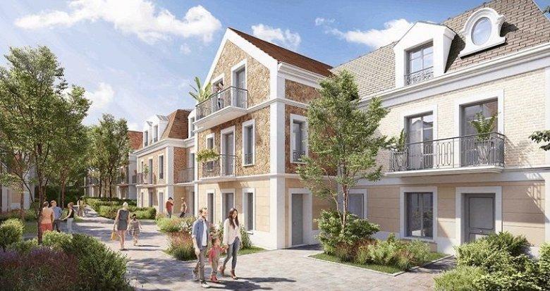 Achat / Vente immobilier neuf Clamart proche Bois de Clamart et centre-ville (92140) - Réf. 1564