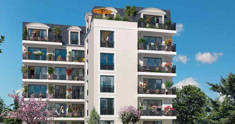 Achat / Vente immobilier neuf Clamart proche bois de la Garenne (92140) - Réf. 2318