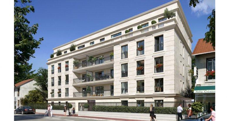 Achat / Vente immobilier neuf Clamart proche de Paris (92140) - Réf. 2749