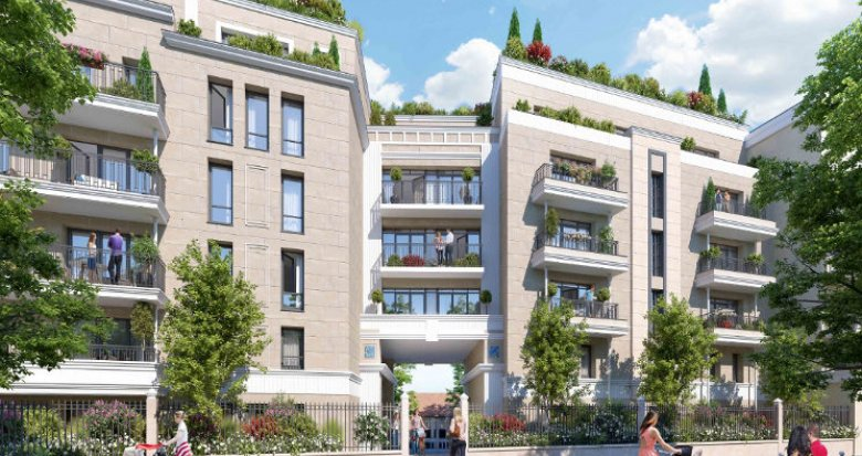 Achat / Vente immobilier neuf Clamart proche tramway T6 (92140) - Réf. 4788