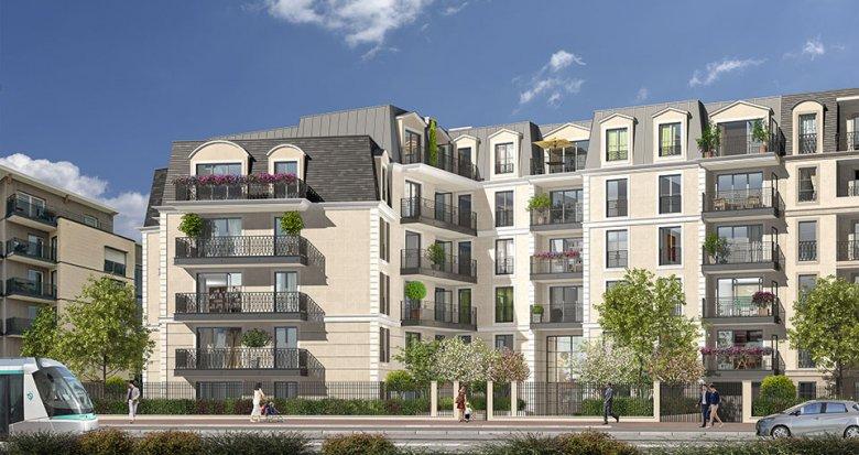 Achat / Vente immobilier neuf Clamart quartier du Jardin Parisien (92140) - Réf. 2541