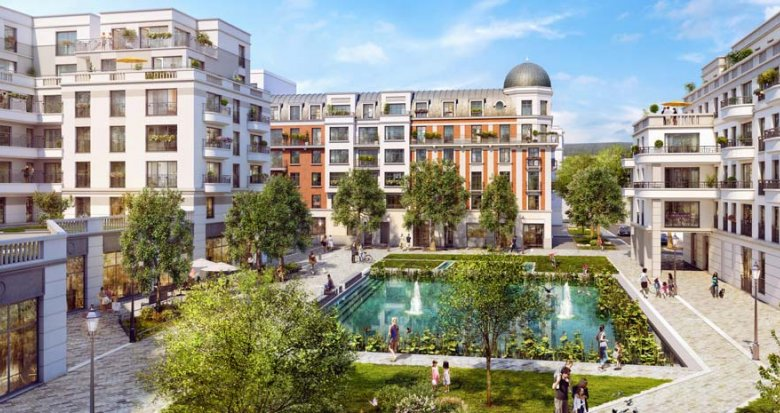 Achat / Vente immobilier neuf Clamart quartier Grand Canal (92140) - Réf. 2360