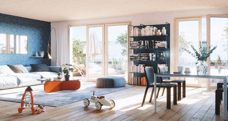 Achat / Vente immobilier neuf Clichy bords de Seine proche commerces (92110) - Réf. 4800