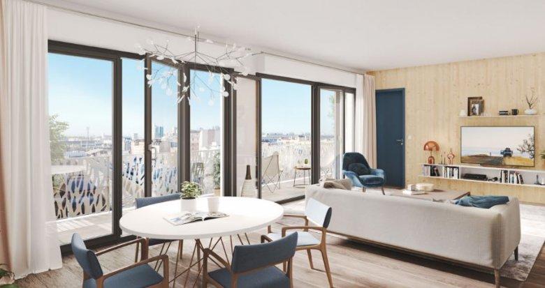 Achat / Vente immobilier neuf Clichy-la-Garenne proche commerces et transports (92110) - Réf. 3208