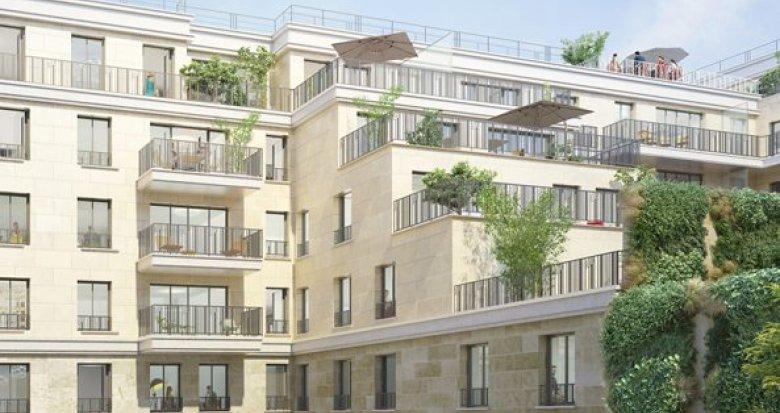 Achat / Vente immobilier neuf Clichy porte de Paris (92110) - Réf. 1693