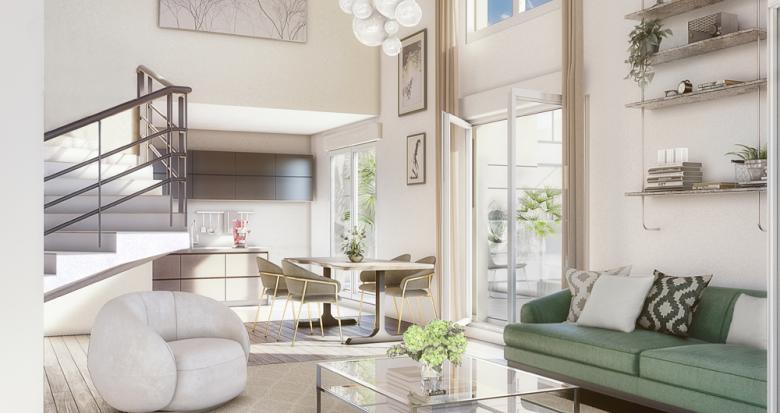 Achat / Vente immobilier neuf Clichy proche RER C (92110) - Réf. 3343