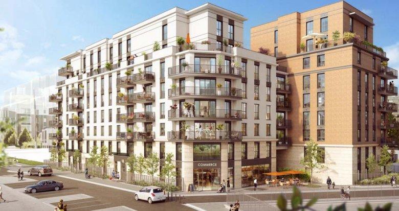 Achat / Vente immobilier neuf Clichy quartier de la ZAC Espace Clichy (92110) - Réf. 2359