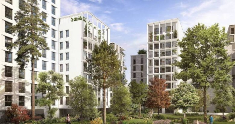 Achat / Vente immobilier neuf Clichy quartier du Bac d'Asnières (92110) - Réf. 3354