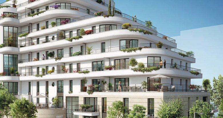Achat / Vente immobilier neuf Colombes écoquartier de la Marine (92700) - Réf. 2405