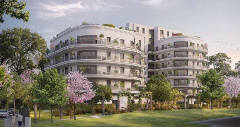 Achat / Vente immobilier neuf Colombes écoquartier Ovation (92700) - Réf. 3352