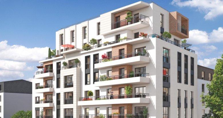 """Achat / Vente immobilier neuf Colombes proche de la Gare """"Les Vallées"""" (92700) - Réf. 3149"""