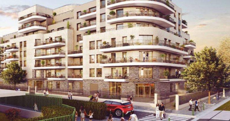 Achat / Vente immobilier neuf Colombes proche Parc Lagardère (92700) - Réf. 3962