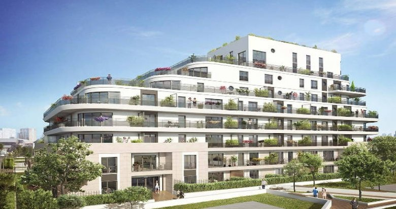 Achat / Vente immobilier neuf Colombes proche Tramway ligne 2 (92700) - Réf. 3645