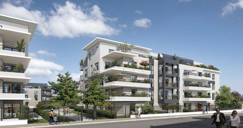 Achat / Vente immobilier neuf Colombes quartier pavillonnaire du Plateau (92700) - Réf. 1410