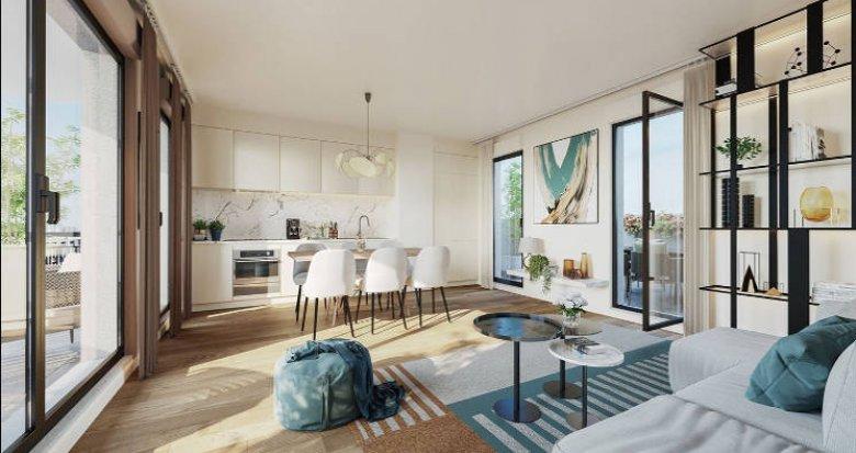 Achat / Vente immobilier neuf Courbevoie à 10 min des gares (92400) - Réf. 5053