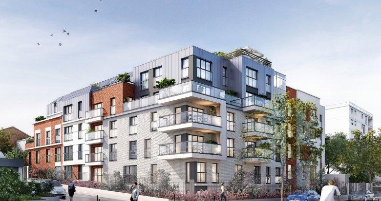 Achat / Vente immobilier neuf Garches face à l'hippodrome (92380) - Réf. 1650
