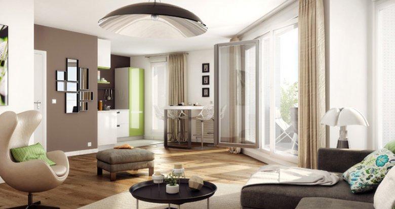 Achat / Vente immobilier neuf Issy-les-Moulineaux, à 400m de la station Corentin Celton (92130) - Réf. 2313