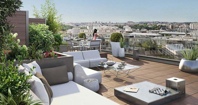 Achat / Vente immobilier neuf Issy les Moulineaux porte Paris 15 (92130) - Réf. 1087