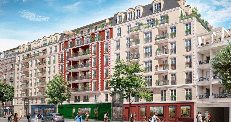 Achat / Vente immobilier neuf La Garenne-Colombes entre la rue du Château et le boulevard de la République (92250) - Réf. 2589