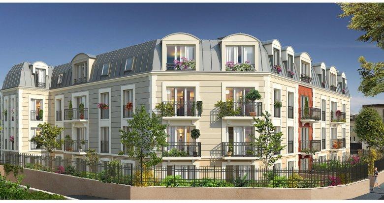 Achat / Vente immobilier neuf La Garenne-Colombes proche Place de la Liberté (92250) - Réf. 2044