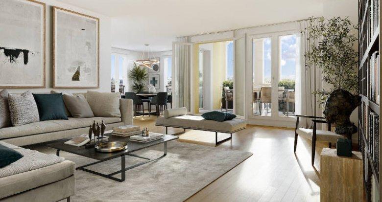 Achat / Vente immobilier neuf Le Plessis-Robinson au coeur du quartier Descartes (92350) - Réf. 5933