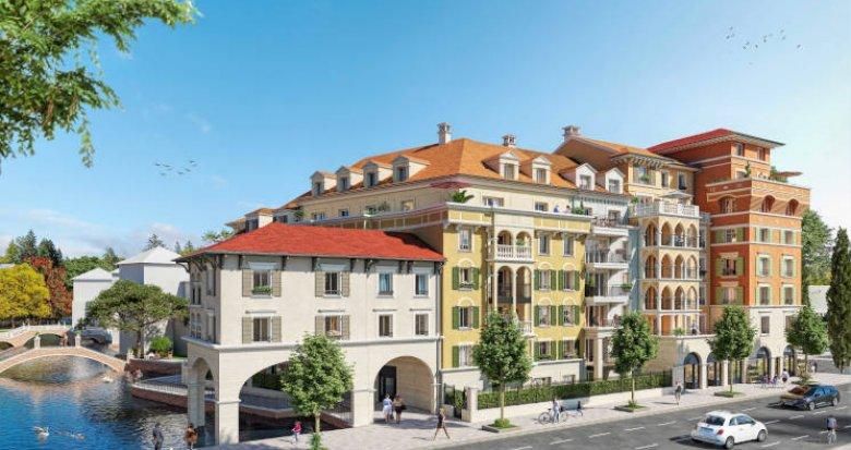 Achat / Vente immobilier neuf Le Plessis-Robinson nouveau quartier du Ponant (92350) - Réf. 6029