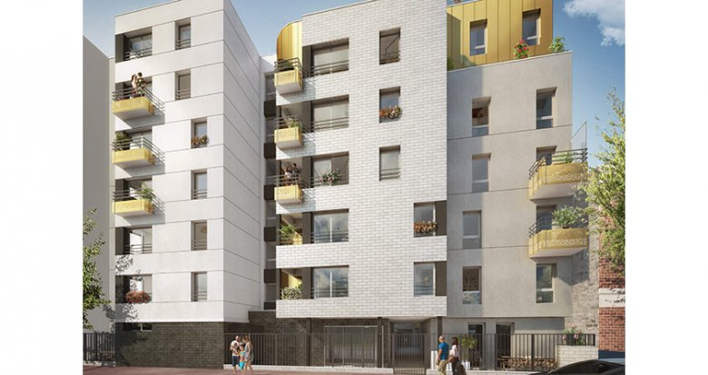 Achat / Vente immobilier neuf Malakoff proche commerces et transports (92240) - Réf. 2467