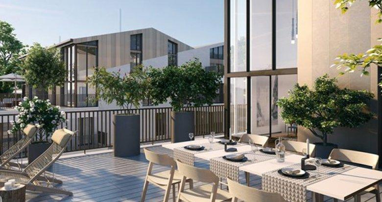 Achat / Vente immobilier neuf Meudon quartier Bellevue proche Seine (92190) - Réf. 1640