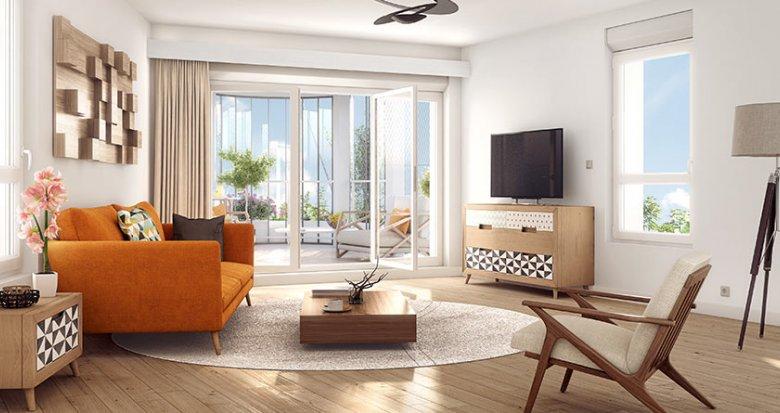 Achat / Vente immobilier neuf Nanterre dans le quartier Nanterre Coeur Université (92000) - Réf. 497