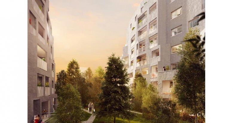 """Achat / Vente immobilier neuf Nanterre proche RER A """"Nanterre Coeur Université"""" (92000) - Réf. 1520"""