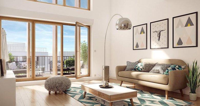 Achat / Vente immobilier neuf Nanterre proche RER A Nanterre-Université (92000) - Réf. 462
