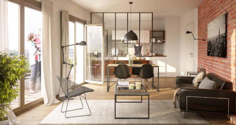 Achat / Vente immobilier neuf Nanterre quartier de la boule (92000) - Réf. 2317