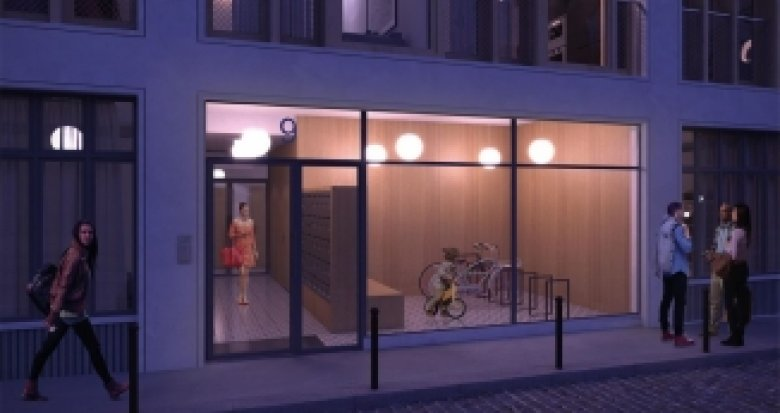 Achat / Vente immobilier neuf Paris 11 face au square Raoul Nordling (75011) - Réf. 2021