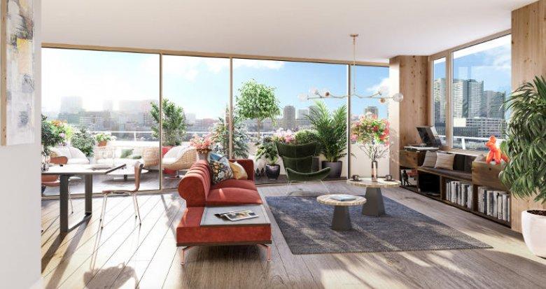 Achat / Vente immobilier neuf Paris 13 à 5 min métro et RER C (75013) - Réf. 4598