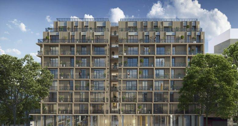 Achat / Vente immobilier neuf Paris 13 Station Bibliothèque François Mitterrand (75013) - Réf. 2936