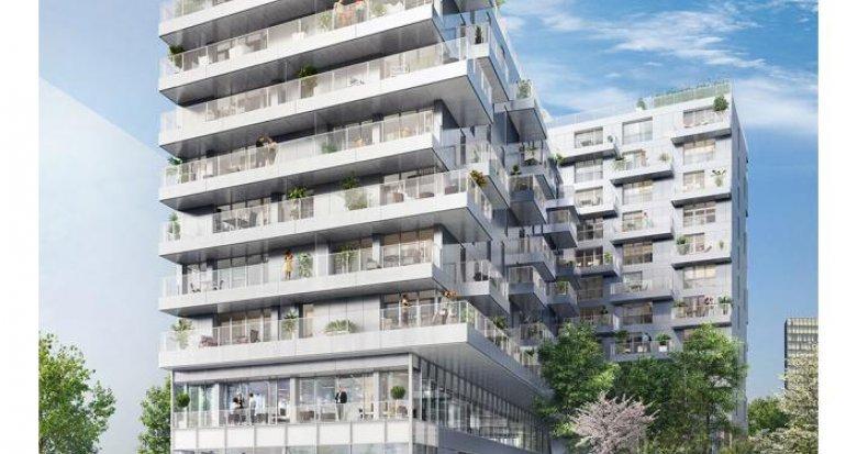 Achat / Vente immobilier neuf Paris 13è arrondissement face à la Bibliothèque Nationale (75013) - Réf. 2935