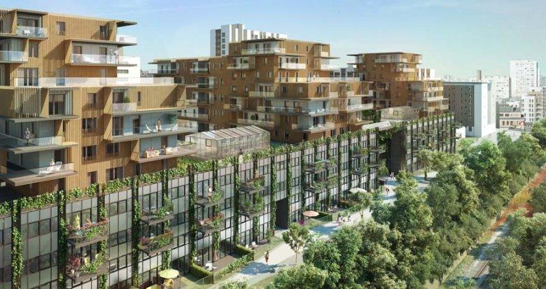 Achat / Vente immobilier neuf Paris 14e Porte de Vanve (75014) - Réf. 383
