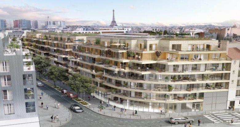 Achat / Vente immobilier neuf Paris 15 à deux pas des commodités (75015) - Réf. 4621