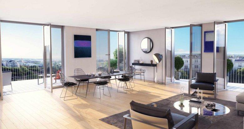 Achat / Vente immobilier neuf Paris 16 porte d'Auteuil (75016) - Réf. 1256