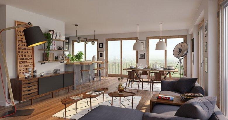 """Achat / Vente immobilier neuf Paris 18 nouveau quartier """"Chapelle International"""" (75018) - Réf. 3800"""