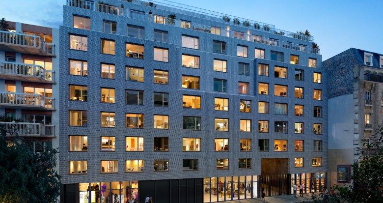 Achat / Vente immobilier neuf Paris 19e métro Porte de Pantin (75019) - Réf. 3529