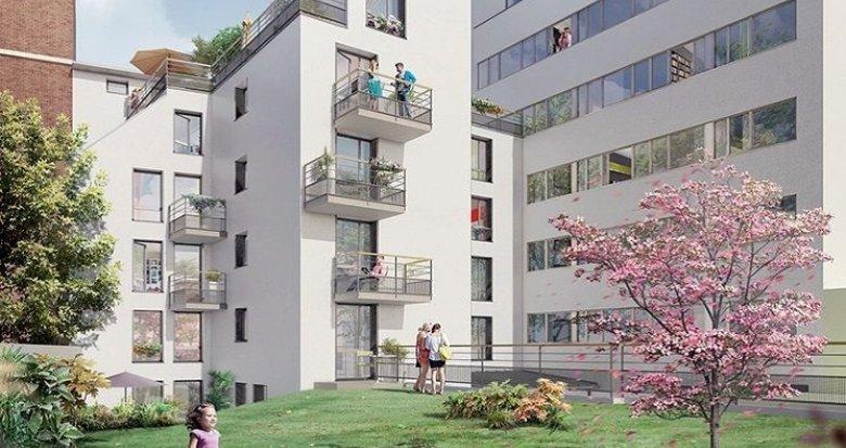 Achat / Vente immobilier neuf Paris 20 proche métro Père Lachaise (75020) - Réf. 1176