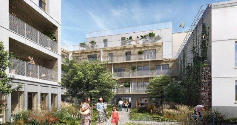 Achat / Vente immobilier neuf Paris 20ème à deux pas du RER (75020) - Réf. 4799