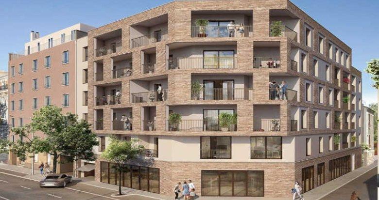 Achat / Vente immobilier neuf Paris quartier Portes de  Montrouge (92120) - Réf. 2612