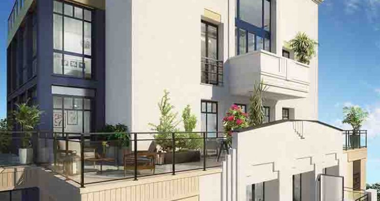 Achat / Vente immobilier neuf Puteaux Eco-Quartier des Bergères (92800) - Réf. 2678