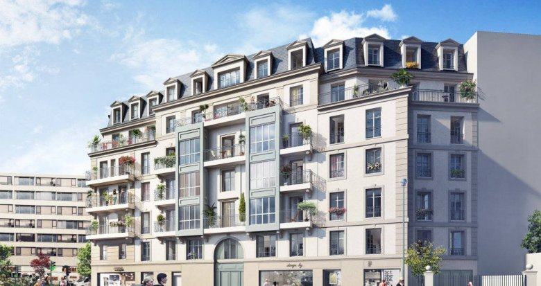 Achat / Vente immobilier neuf Puteaux proche métro et tramway (92800) - Réf. 6183