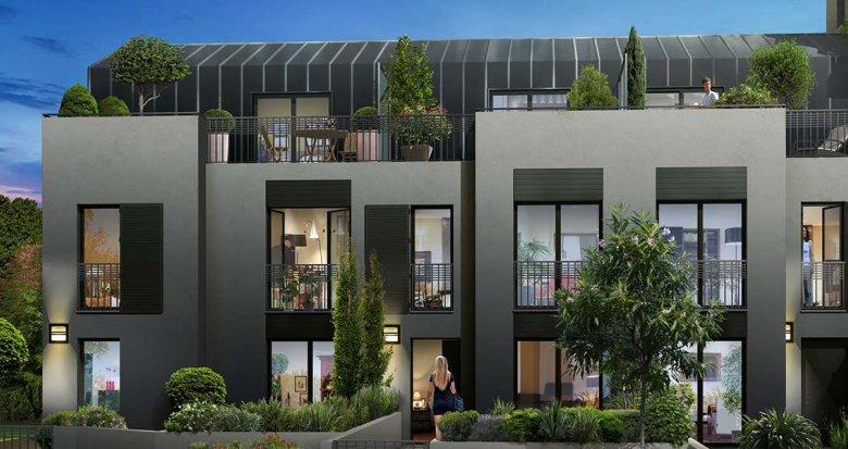Achat / Vente immobilier neuf Rueil-Malmaison à deux pas du Parc de l'Amitié (92500) - Réf. 2054