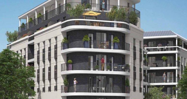 Achat / Vente immobilier neuf Rueil-Malmaison proche écoles et RER A (92500) - Réf. 4236