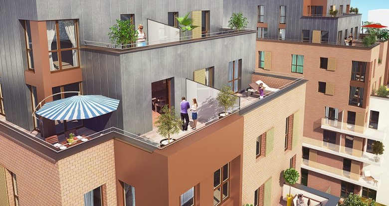 Achat / Vente immobilier neuf Rueil-Malmaison proche Quartier de la Défense (92500) - Réf. 1887