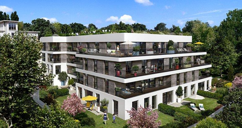 Achat / Vente immobilier neuf Saint-Cloud proche gare Le Val d'Or (92210) - Réf. 704